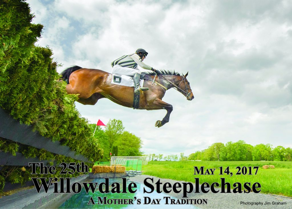 The willowdale steeplechase welcome for Steeplechase